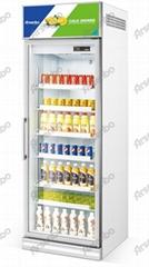 雅紳寶單門玻璃門冷櫃 飲料冷飲冷藏展示櫃風冷