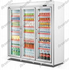 雅紳寶 Arsenbo三門 超市便利店餐廳飲料冷櫃 分體立式保鮮冷藏櫃