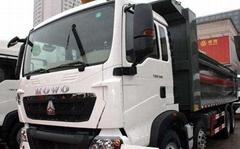 LNG/CNG/ Diesel Sinotruck Heavy Duty Howo 31 ton 8*4 dump tipper truck