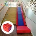 Indoor toddler soft foam folding  slides