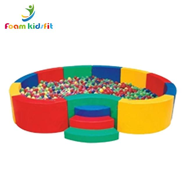 High quality colorful big foam  indoor soft play ball pit kid's ball pool for  5