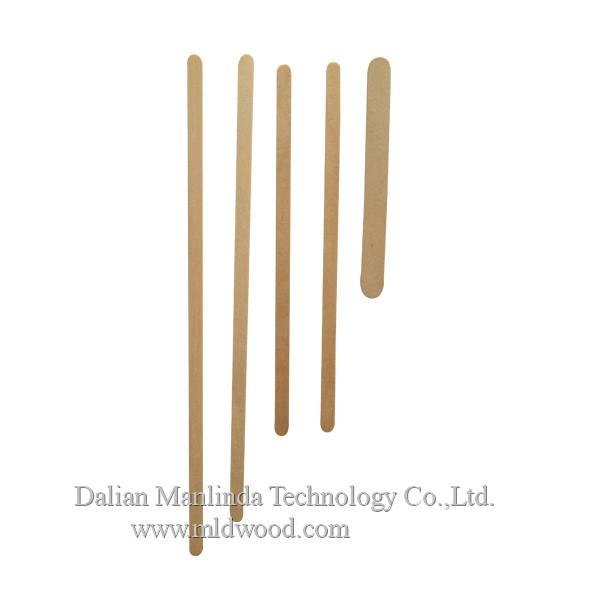 Disposable tableware wooden coffee stirrer 2