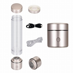 Hydrogen Rich Generator Bottle 5000PPB Alkaline Water Cup IHOOOH