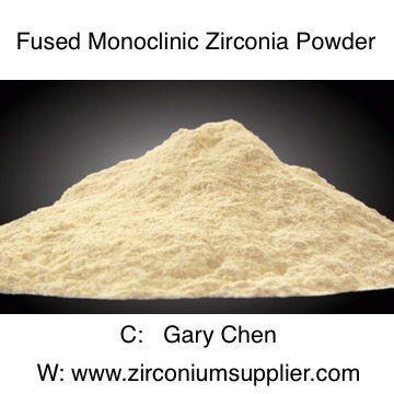 Fused Monoclinic Zirconia powder for Refractory 1