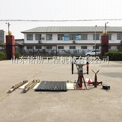 廠家供應便攜式20米取土鑽機 土壤檢測取樣採集器