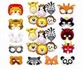 cheap custom colorful halloween superhero felt masks