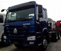 China Truck 420HP SINOTRUK HOWO Tractor