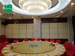 中餐厅活动折叠屏风