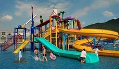 人气项目水上乐园大型玻璃钢水滑梯
