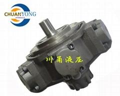 曲轴连杆径向柱塞式低速大扭矩液压马达
