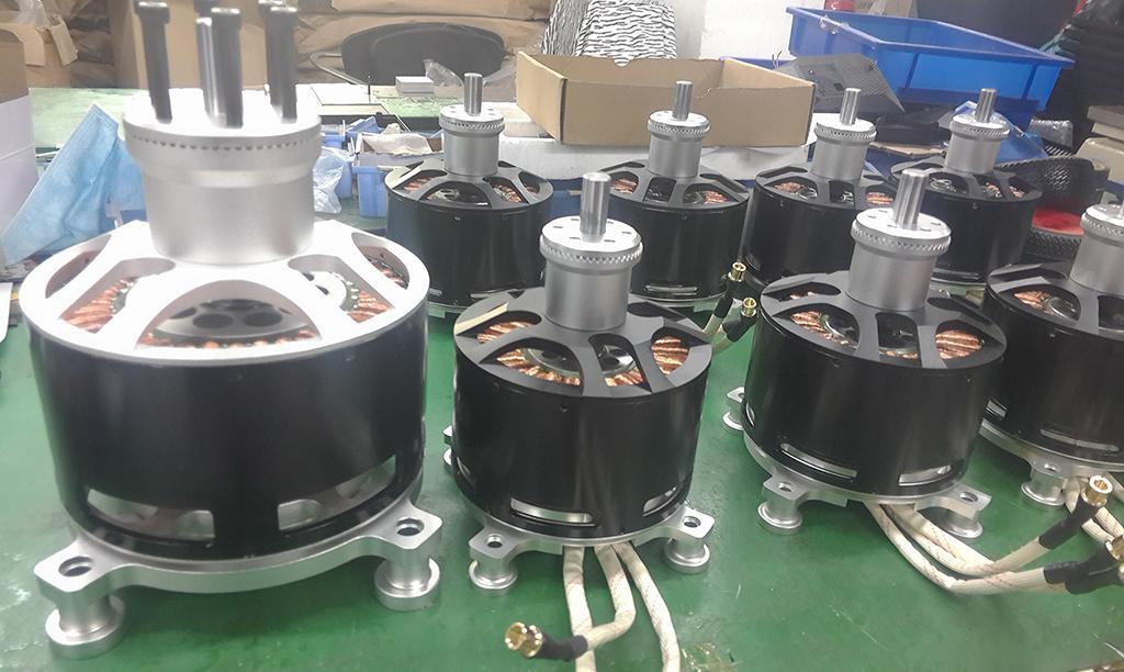 154120 Brushless Motor 50 kw high power brushless motor for drone
