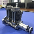 GF60i2 Linear Double Cylinder 4-Stroke Air-Cooled Gasoline Engine rc engine 1