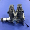 GF60i2 Linear Double Cylinder 4-Stroke Air-Cooled Gasoline Engine rc engine 2