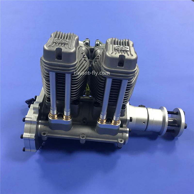GF60i2 Linear Double Cylinder 4-Stroke Air-Cooled Gasoline Engine rc engine 4