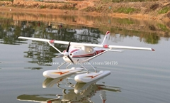Cessna 182 seaplane 1500mm wingspan pnp
