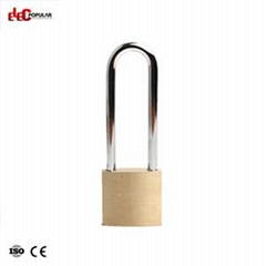 76mm Brass Steel Shackle Safety Padlocks EP-85551C~EP-8554C  Metal Body Padlock