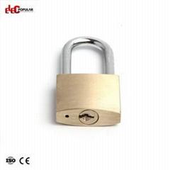 38mm Brass Steel Shackle Safety Padlocks EP-8521C~EP-8524C  Metal Body Padlock