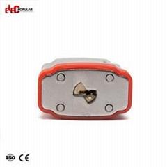19mm Laminated Steel Shackle Safety Padlocks EP-8561  Metal Body Padlock
