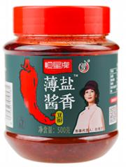 恒星牌郫县豆瓣酱食品调味料辣椒酱
