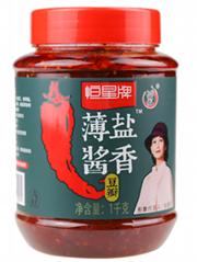 健康低盐郫县红油豆瓣酱中国菜调味料