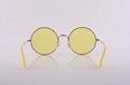 Cai Ray original branded sunglasses OCR3592 9035/C9 Bronze Copper yellow lens