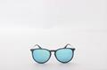 Cai Ray original Erika sunglasses OCR4171 601/55 black/blue flash lens 54mm