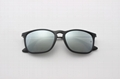 Cai Ray original Chris sunglasses CR4187 601/30 black/gray si  e flash lens 54mm