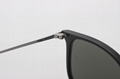 Cai Ray original Chris sunglasses CR4187 601/30 black/gray silve flash lens 54mm