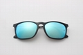 Cai Ray original Chris sunglasses CR4187 601/55 black/blue flash lens 54mm