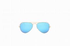 Cai Ray original branded sunglasses aviator CR3025 112/17 blue/mirror lens UV400