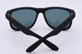 OEM brand sunglasses 4165 622/6Q Justin 54mm matte black/orange flashmirror lens