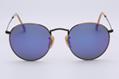 OEM brand sunglasses 3447 167/1M round metal purple violet lens 50mm bronze fram