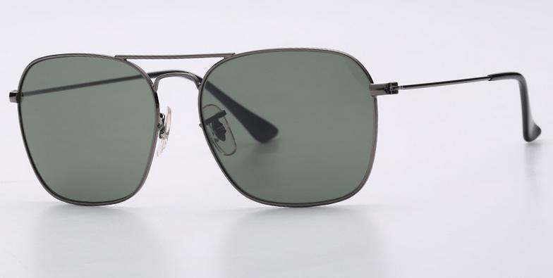 OEM brand sunglases 3136 004 caravan gunmetal/G15 lens new men sunglasses UV400