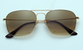 OEM brand sunglases 3136 001/51 caravan golden/gradient brown new men sunglasses
