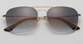 OEM brand sunglases 3136 001/32 caravan golden/gradient gray new men sunglasses