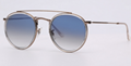 OEM brand sunglasses 3647N 9068/3F double bridge sunglass bronze/gradient blue