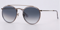 OEM brand sunglasses 3647N 9067/71 double bridge sunglass bronze/gradient gray