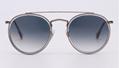 OEM brand sunglasses 3647N 9067/71 double bridge sunglass bronze/gradient gray