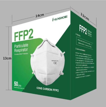 FFP2 Mask N95 Mask CE FDA NIOSH Certificate in stock factory price