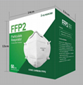 FFP2 Mask N95 Mask CE FDA NIOSH Certificate in stock factory price