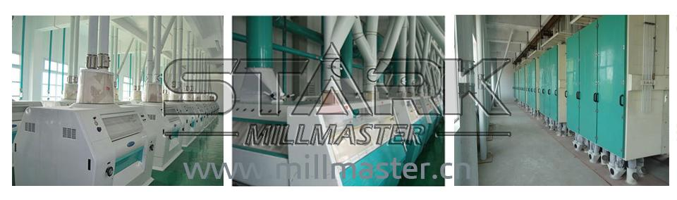 500ton Per Day Wheat Flour Milling Rice Mill Machine 3