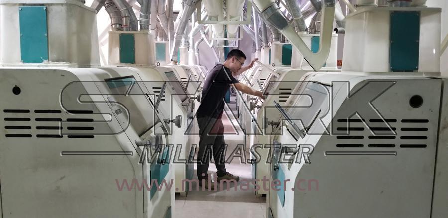 500ton Per Day Wheat Flour Milling Rice Mill Machine 4