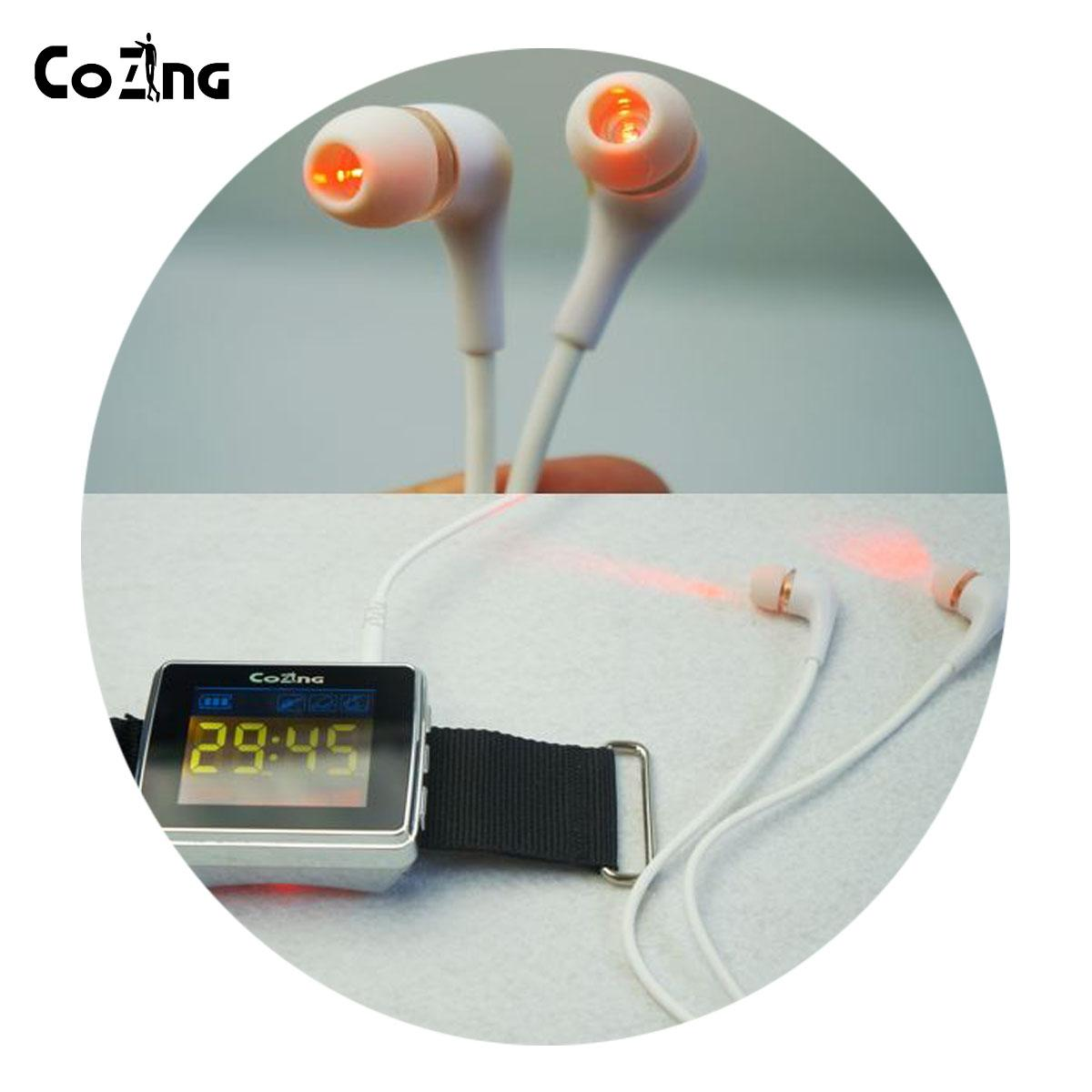 Ear acupuncture Tinnitus Physiotherapy Laser Therapy Apparatus 2
