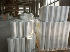 best price cross linked printed pof plastic polyolefin shrink wrapping film