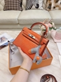 Hermes kelly bag replica kelly bag 1:1 copy mini kelly bag