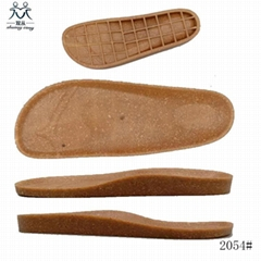 cheap price PVC TPR flat sole for ladies sandals