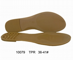 TPR Sole for ladies Wholesale shoe sole cheap price