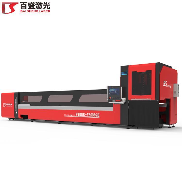 广东佛山百盛激光F6035GE重型激光切管机 2