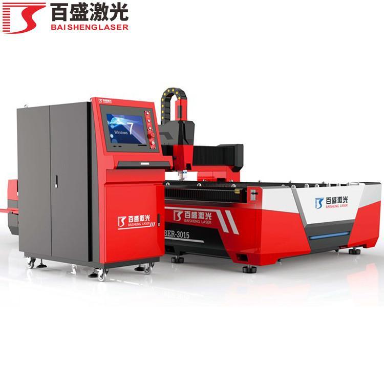 广东佛山百盛激光单平台敞开式双驱激光切割机 1