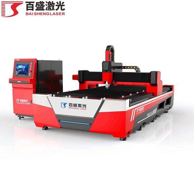 广东佛山百盛激光单平台敞开式双驱激光切割机 2